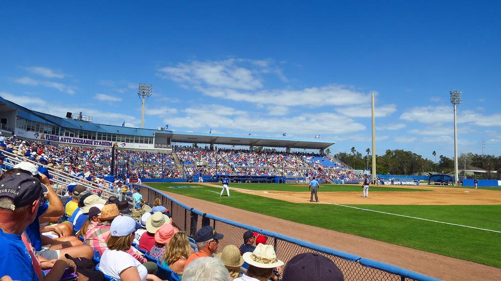 Florida Auto Exchange Stadium, Spring Training home of the Toronto Blue Jays