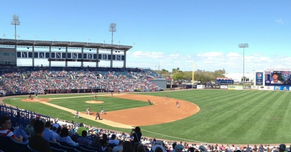 George Steinbrenner Field, Spring Training home of the New York Yankees