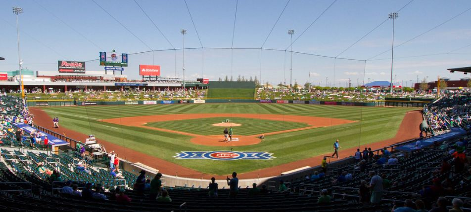 Sloan Park, Spring Training home of the Chicago Cubs