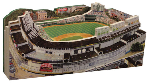 Wrigley Field Chicago Cubs 3D Ballpark Replica