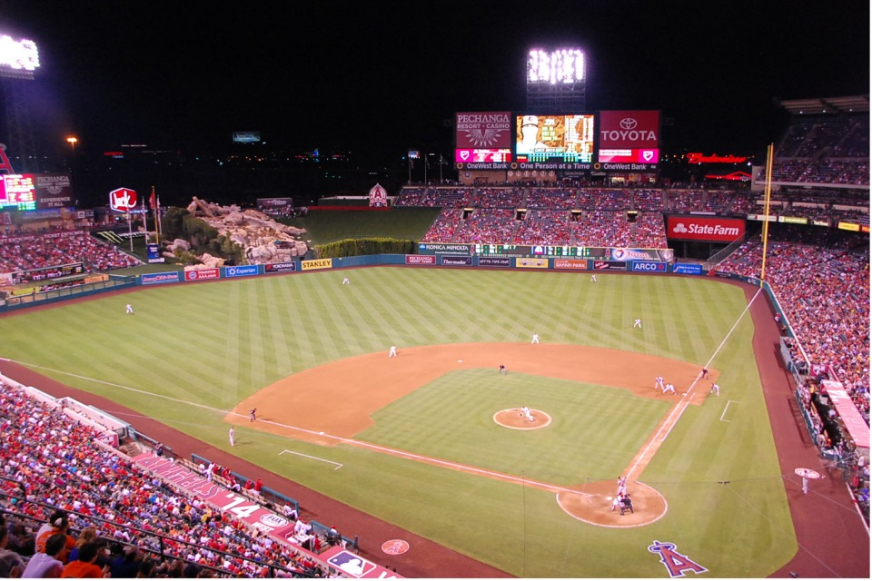 Angel Stadium Los Angeles Angels Ballpark Ballparks Of