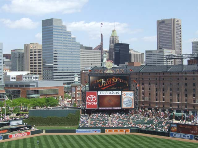 Oriole Park At Camden Yards Baltimore Orioles Ballpark
