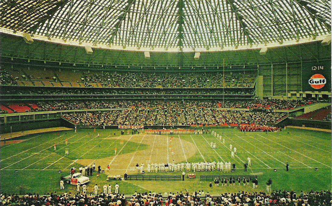 Astrodome History Photos And More Of The Houston Astros