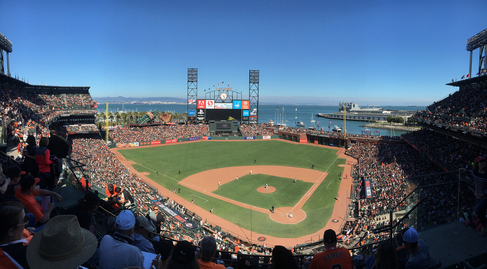 Oracle Park Park, home of the San Francisco Giants