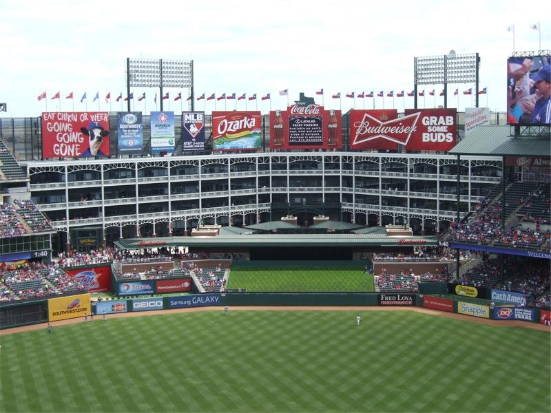 Globe Life Park, Texas Rangers ballpark - Ballparks of Baseball