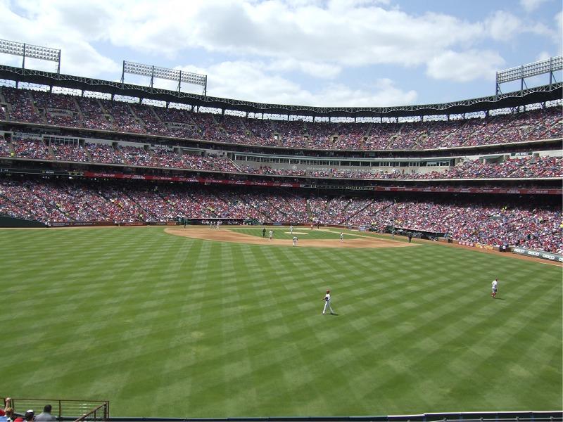 Globe Life Park Texas Rangers Ballpark Ballparks Of