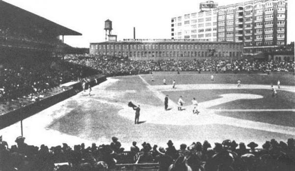 The Baker Bowl, former home of the Philadelphia Phillies