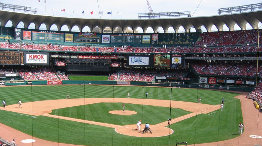 Busch Stadium History Photos And More Of The St Louis