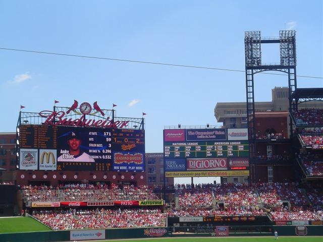 Busch Stadium St Louis Cardinals Ballpark Ballparks Of Baseball