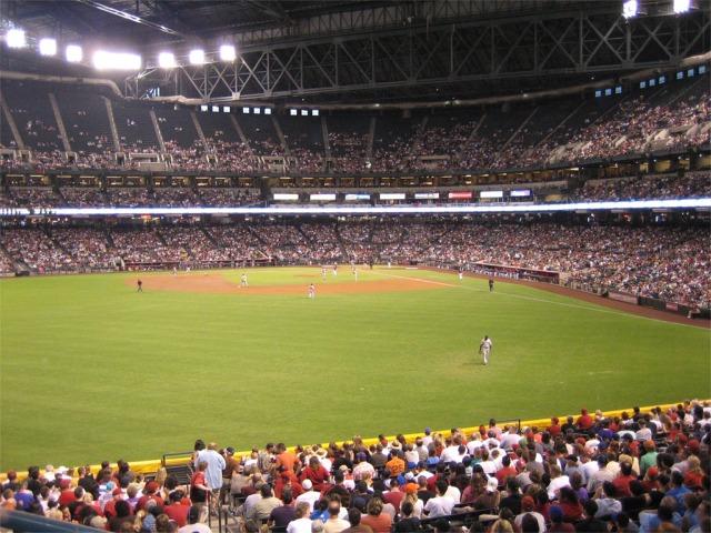 Chase Field, Arizona Diamondbacks ballpark - Ballparks of ... | 640 x 480 jpeg 120kB