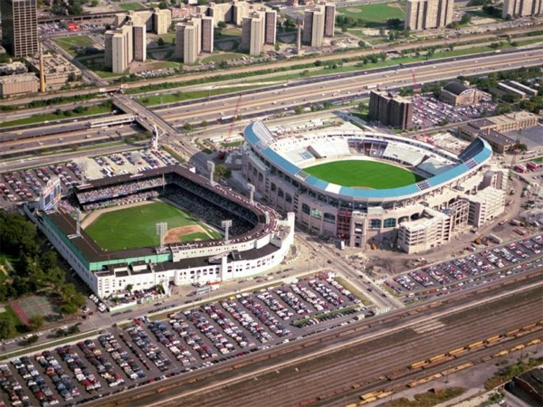 Comiskey Park History Photos And More Of The Chicago