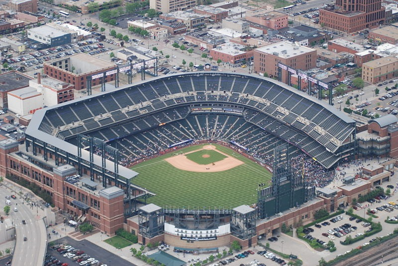Coors Field Colorado Rockies Ballpark Ballparks Of Baseball