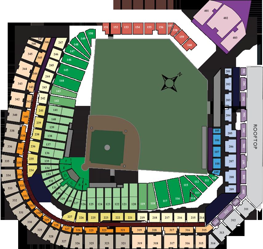 Colorado Rockies Schedule: Coors Field, Colorado Rockies Ballpark