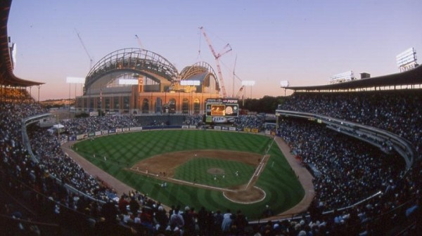 County Stadium, former home of the Milwaukee Brewers