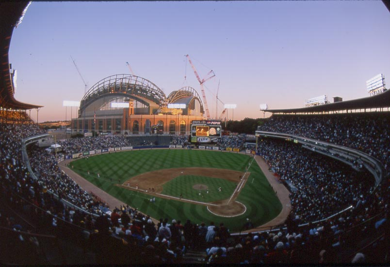 County Stadium History Photoore Of The Milwaukee Brewers Former Ballpark