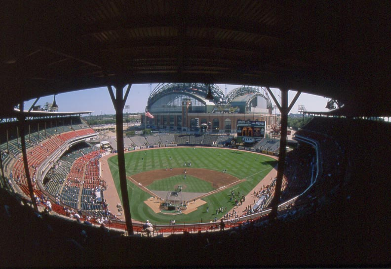 County Stadium - History, Photos and more of the Milwaukee ...