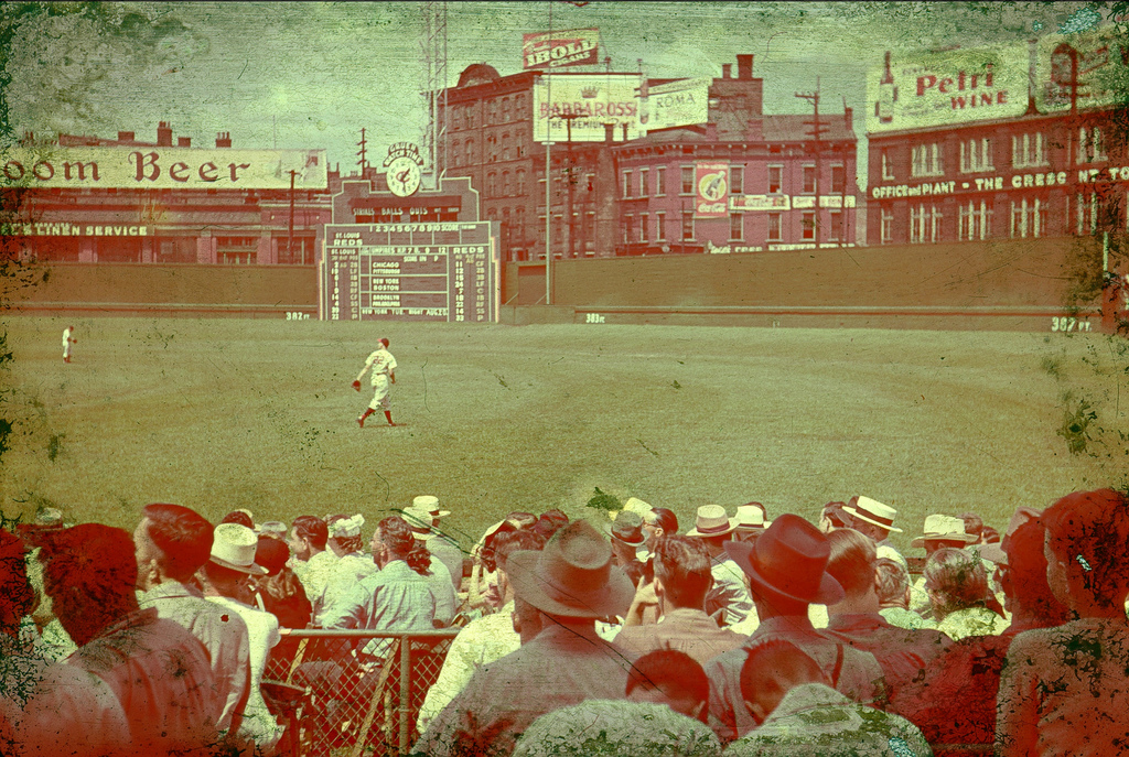 Crosley Field History Photos And More Of The Cincinnati Reds Former Ballpark