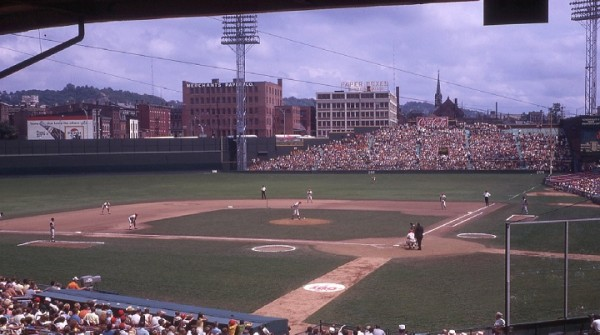 Crosley Field, former home of the Cincinnati Reds
