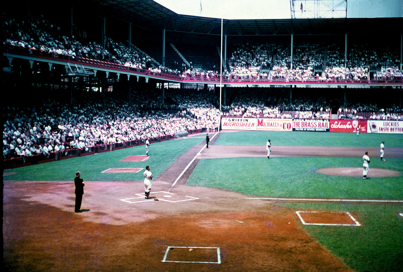 Ebbets Field History Photos And More Of The Brooklyn Dodgers Former Ballpark