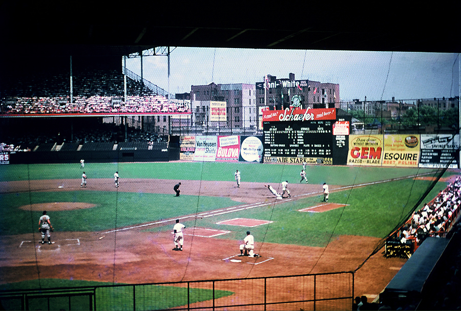 Image result for EBBETS FIELD IMAGES