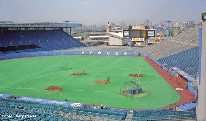 Exhibition Stadium - Former home of the Toronto Blue Jays - Picture: Jerry Reuss