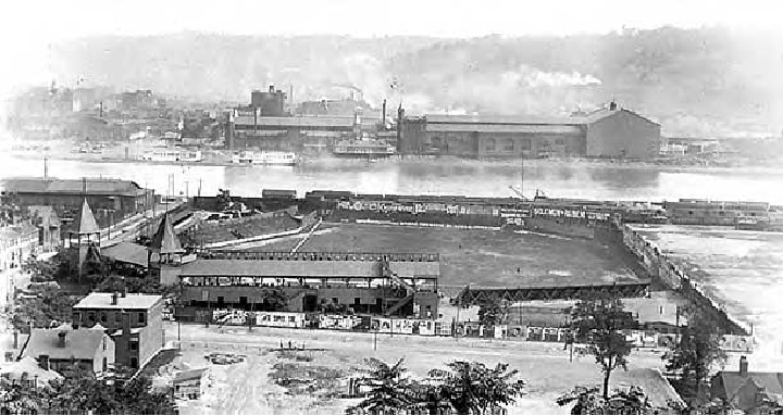 Exposition Park, former home of the Pittsburgh Pirates