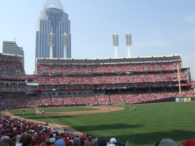 Great American Ball Park Cincinnati Reds Stadium