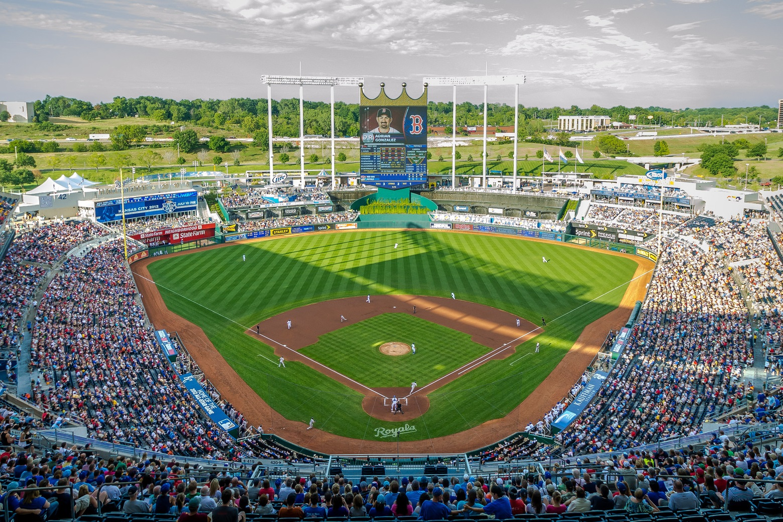 b2ca127fa Kauffman Stadium, Kansas City Royals ballpark - Ballparks of Baseball