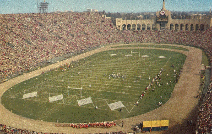 Los Angeles Coliseum - history, photos and more of the Los Angeles Dodgers former ballpark