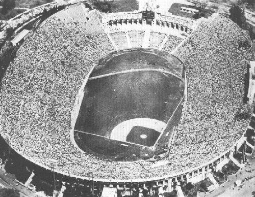 Los Angeles Coliseum History Photos And More Of The Los