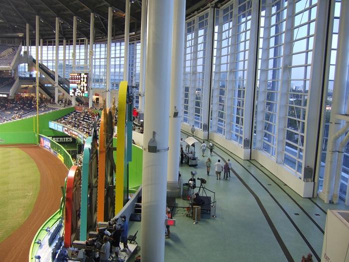 marlins park, miami marlins ballpark - ballparks of baseball