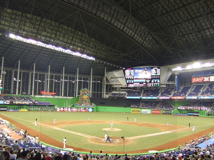 Marlins Park Miami Marlins Ballpark Ballparks Of Baseball