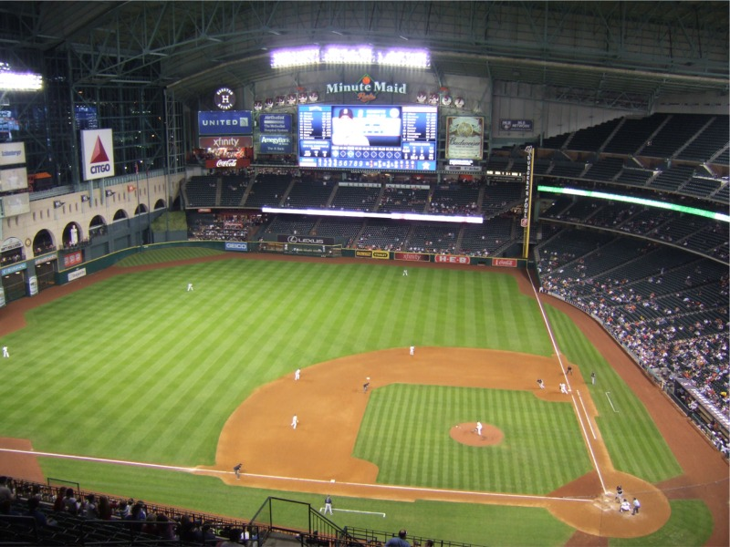 Minute Maid Park Houston Astros Ballpark Ballparks Of