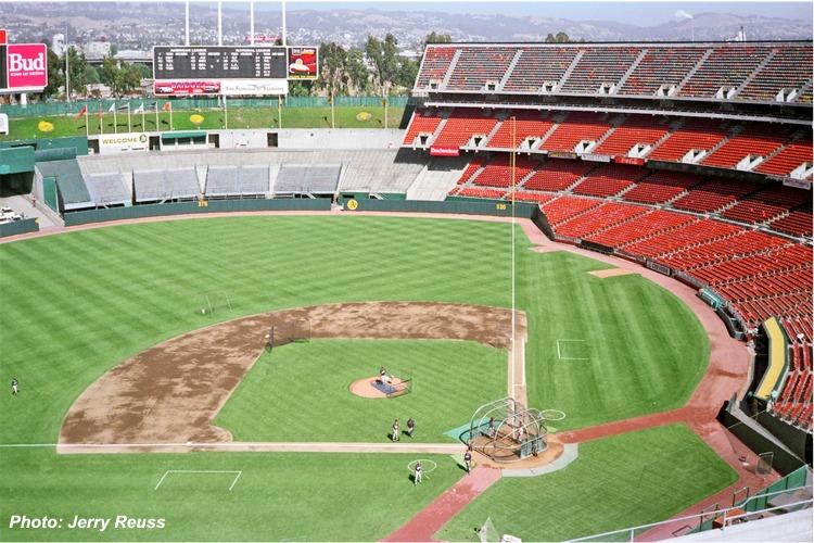 Oakland Coliseum, Oakland A's ballpark - Ballparks of Baseball