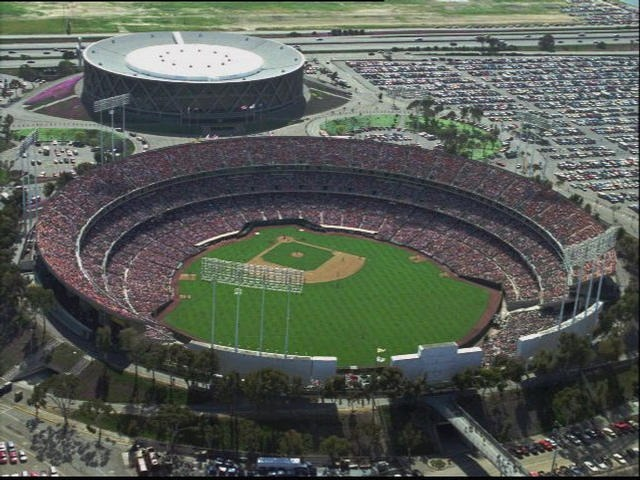Oakland coliseum oakland as ballpark ballparks of baseball the as played their first game on april 17 1968 when 50219 fans packed the three tiered stadium built in a circular shape many of the seats stretched malvernweather Gallery