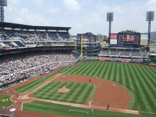 Pnc Park Pittsburgh Pirates Ballpark Ballparks Of Baseball