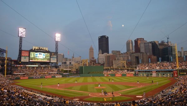 View from the lower deck at PNC Park