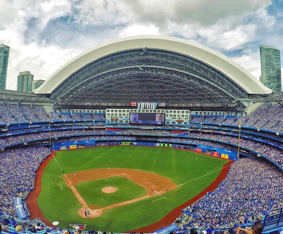 Rogers Center, home of the Toronto Blue Jays