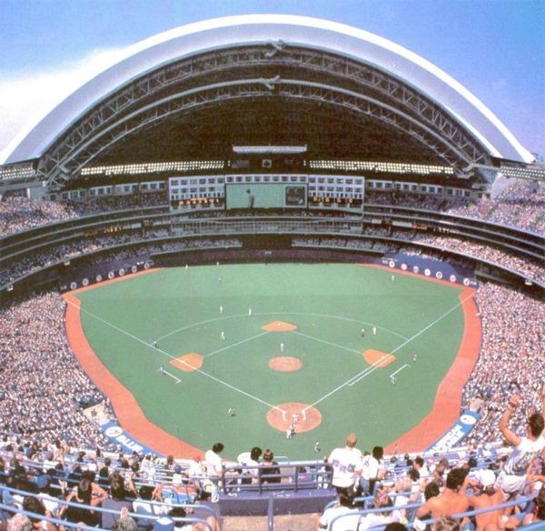 Rogers Centre Toronto Blue Jays Ballpark Ballparks Of Baseball