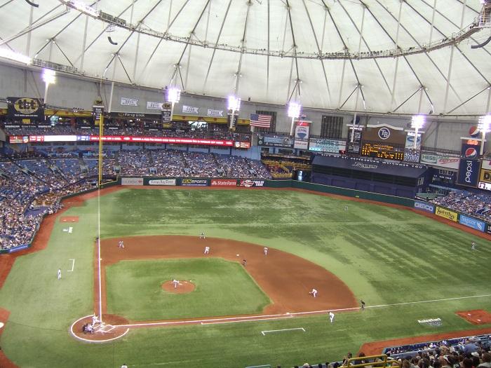 Tropicana Field Tampa Bay Rays Ballpark Ballparks Of
