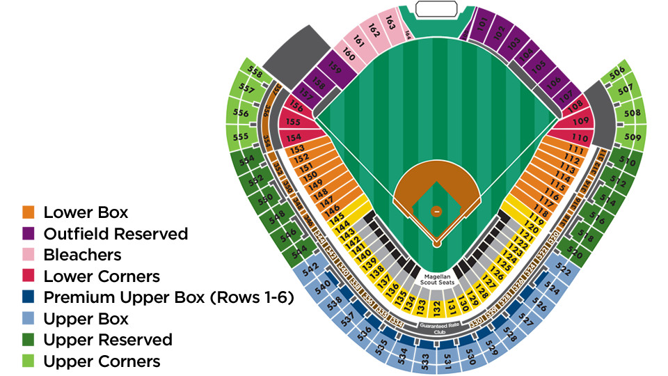Mlb Ballpark Seating Charts Ballparks Of Baseball