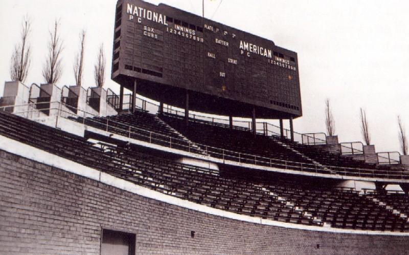 Wrigley Field Chicago Cubs Ballpark