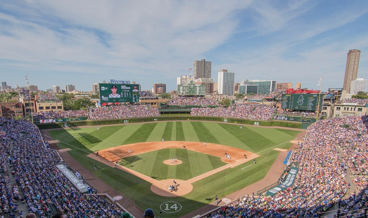 Wrigley Field Chicago Cubs Ballpark Ballparks Of Baseball