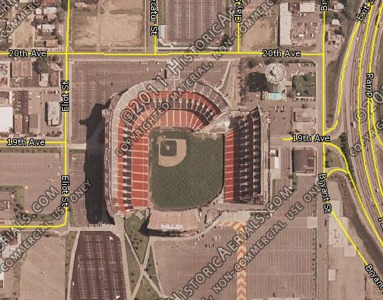 Mile High Stadium History Photos And More Of The