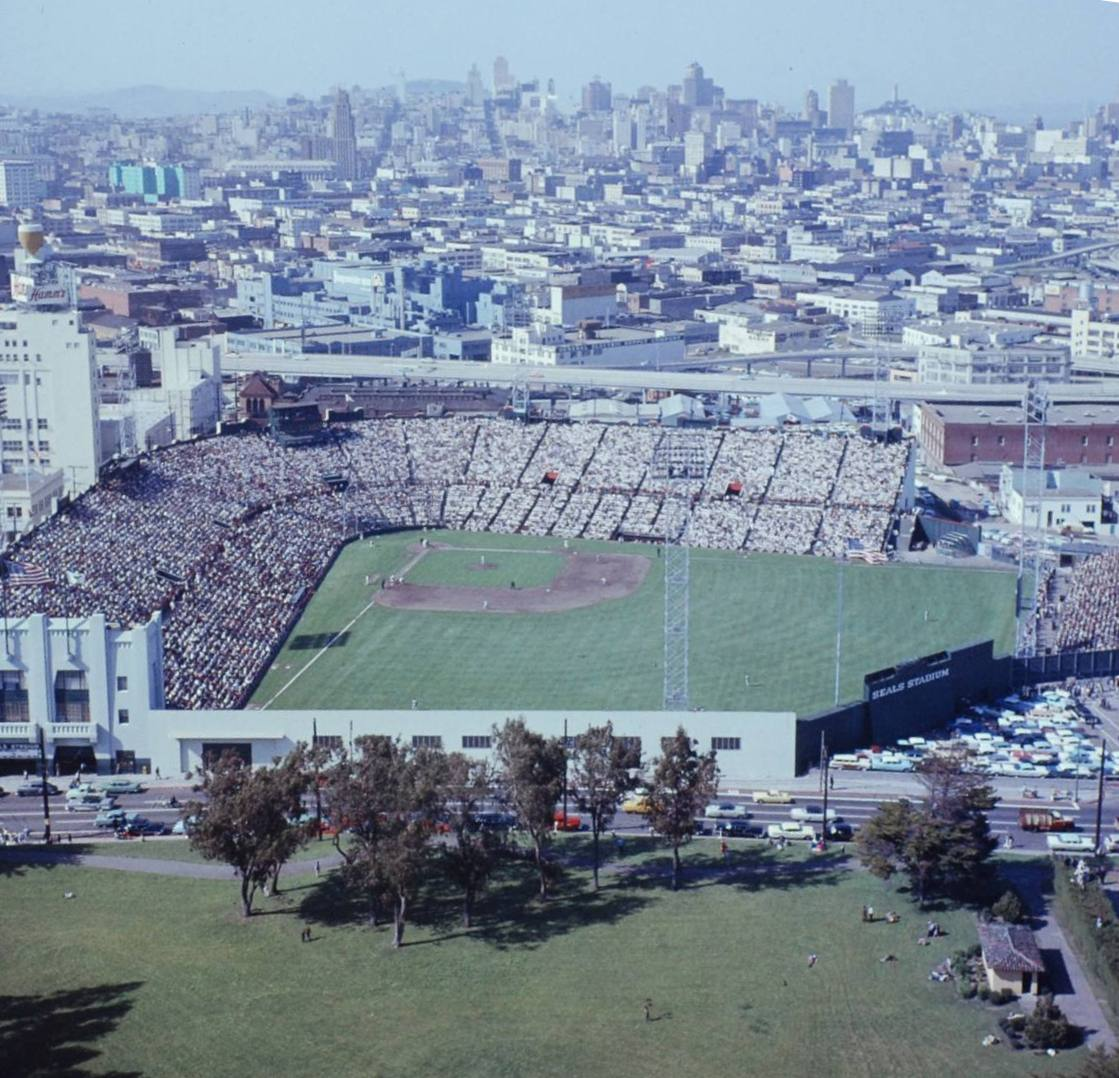 Seals stadium history photos and more of the san francisco giants seals stadium history photos and more of the san francisco giants former ballpark malvernweather Image collections
