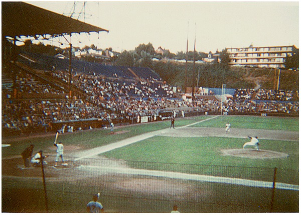 sicks stadium history photos and more of the seattle pilots
