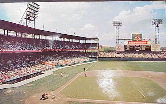 Sportsmans Park - history, photos and more of the St. Louis ...