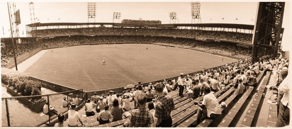 View of Sportmans Park, former home of the St. Louis Cardinals & Browns