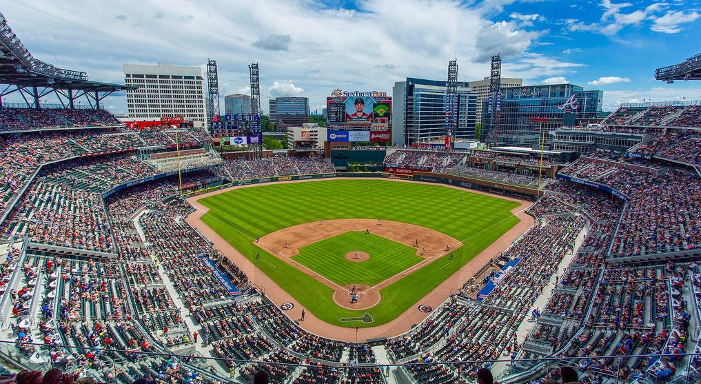 image about Atlanta Braves Schedule Printable named SunTrust Park - photos, material and further more of the