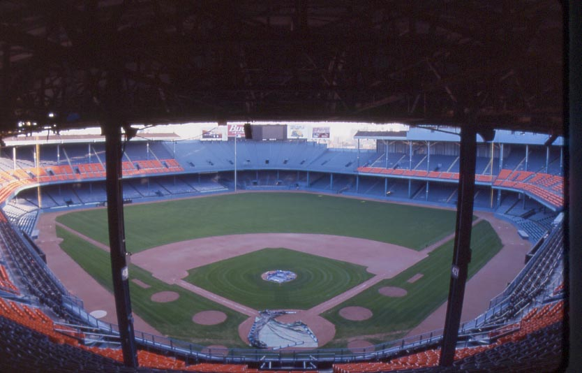 Tiger Stadium History Photoore Of The Detroit Tigers Former Ballpark